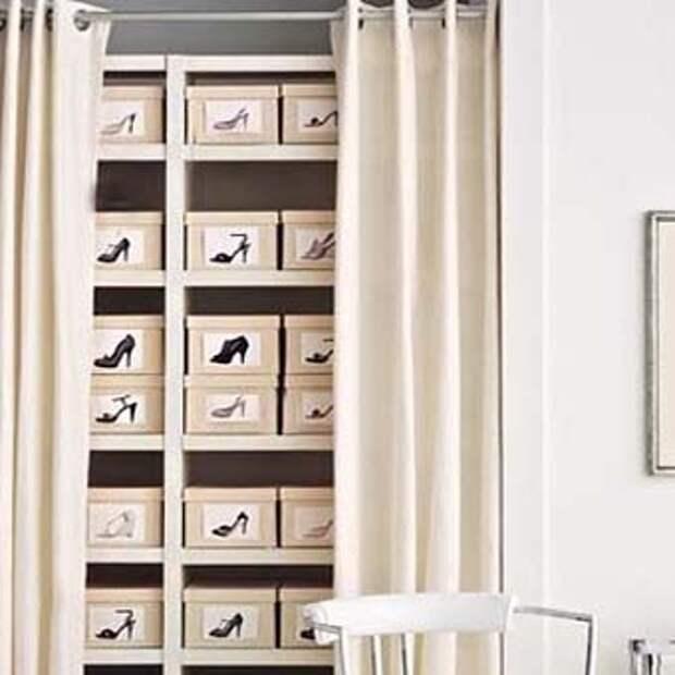 хранение обуви полезные идеи