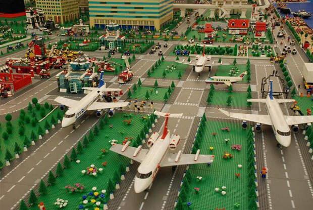Самые грандиозные сооружения из LEGO