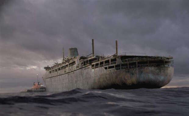 Корабли-призраки, до сих пор пугающие моряков