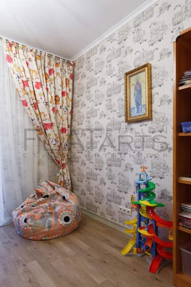 Детская комната, кресло-мешок