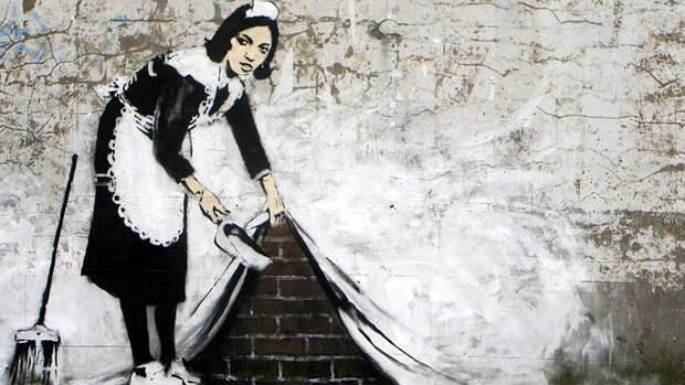 Ученые рассекретили личность Бэнкси - самого известного уличного художника в мире