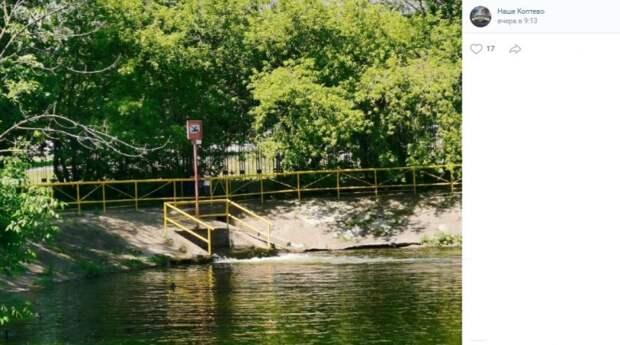 Большой Садовый пруд не вошел в список одобренных для купания зон