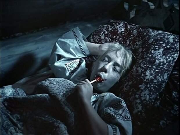 """Инна Чурикова в роли Марфушки (""""Морозко"""", 1964)"""
