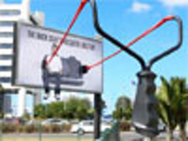 Социальная реклама от Clemenger BBDO: Почувствуйте себя снарядом