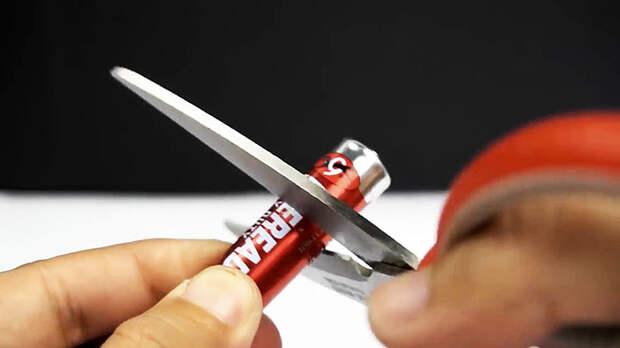 8 способов быстро наточить ножницы