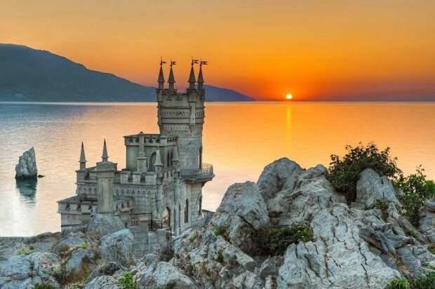 Ласточкино гнездо, Крым.
