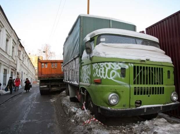 Правительство может ограничить сроки эксплуатации грузовиков и автобусов