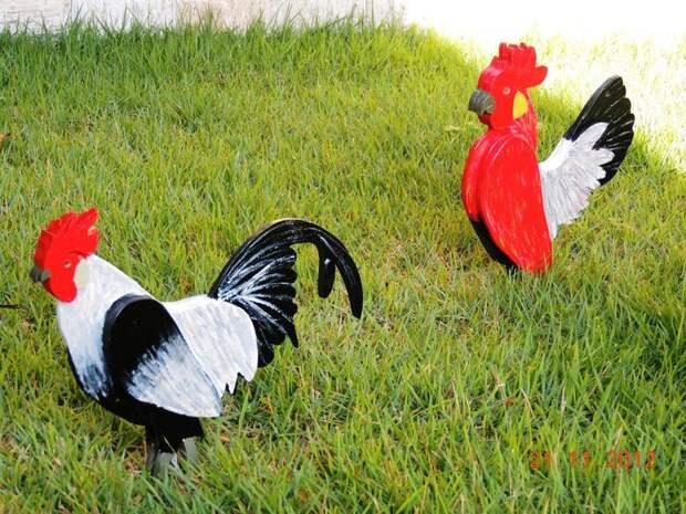 Meus galinhos. Projetos de minha autoria.