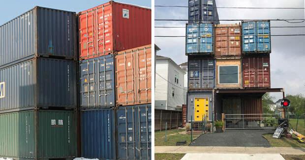 Американец построил роскошный дом своей мечты из11 морских контейнеров