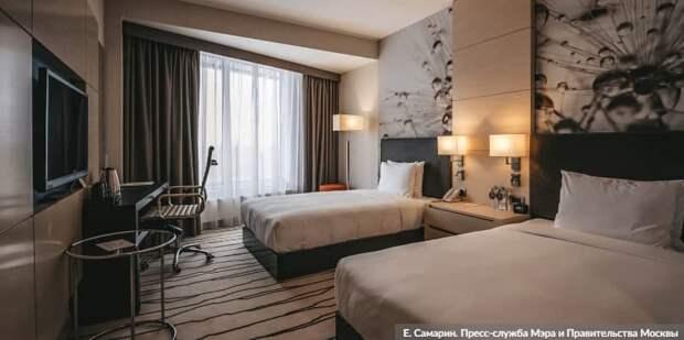 Москва проведет дезинфекцию гостиниц-участниц программы борьбы с COVID-19. Фото: Е. Самарин mos.ru