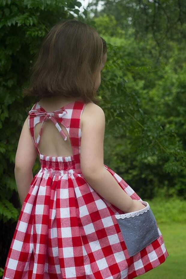 Детские летние платья (трафик)