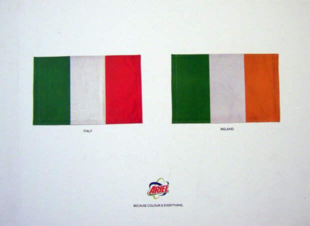 Национальная символика – элемент рекламы?