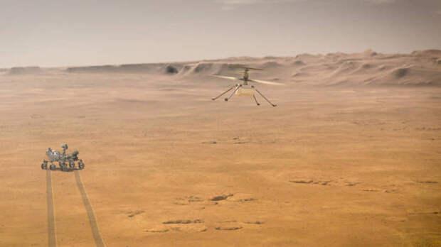 Миссию первого марсианского вертолета Ingenuity решили продлить