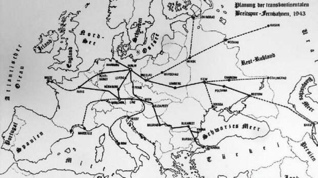 Гитлеровские поезда-гиганты