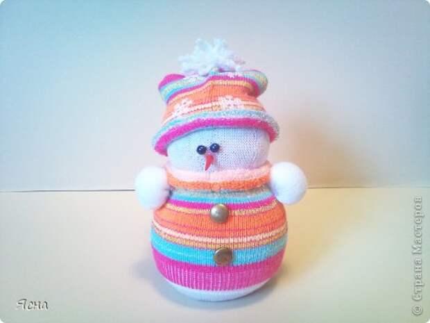 Мастер-класс Поделка изделие Новый год Шитьё И снова снеговики из носков + мои дополнения Носки фото 10