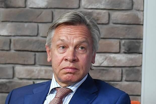 Пушков высмеял реакцию Киева на инцидент с британским эсминцем