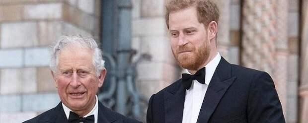 Принц Гарри пытается наладить отношения с отцом