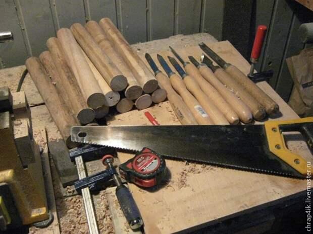 деревянные стойки