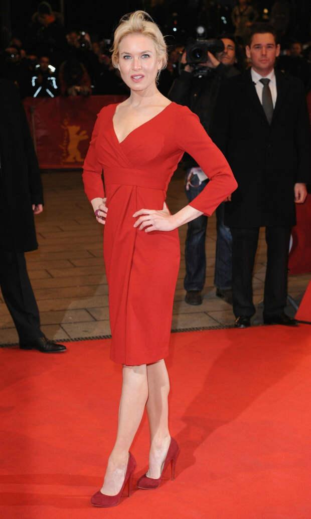 Рене Зелвегер (Renee Zellweger) red dress
