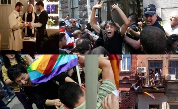 Грузины — главные по гомосексуализму в СССР и Российской Империи