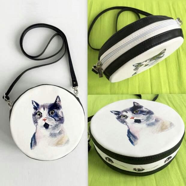 Необычные сумочки на ремешке (подборка)