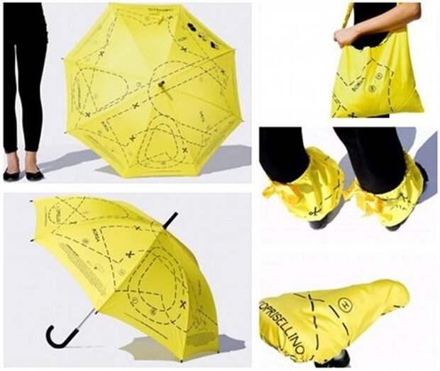 Зонтик с выкройками
