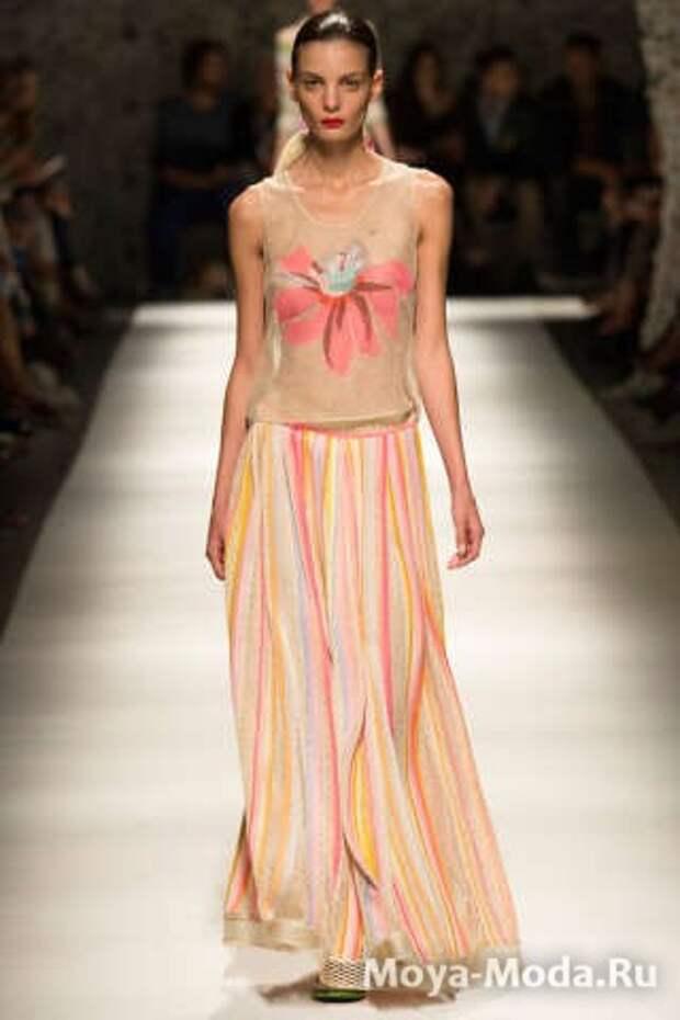 Модные юбки весна-лето 2015 Missoni