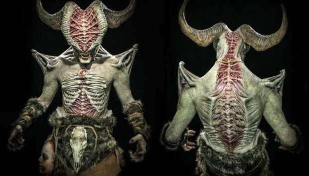 Китаянка создала невероятно реалистичного демона