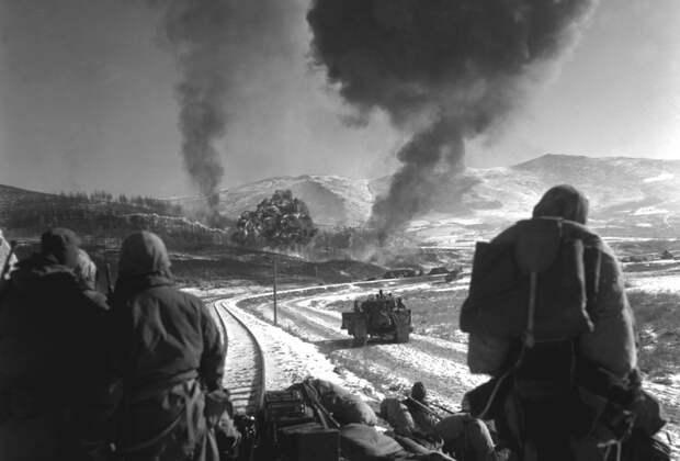 k30 N980 46 впечатляющих снимков Корейской войны