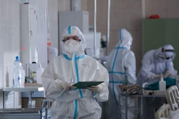 Число случаев COVID-19 в РФ за сутки выросло на 22 498