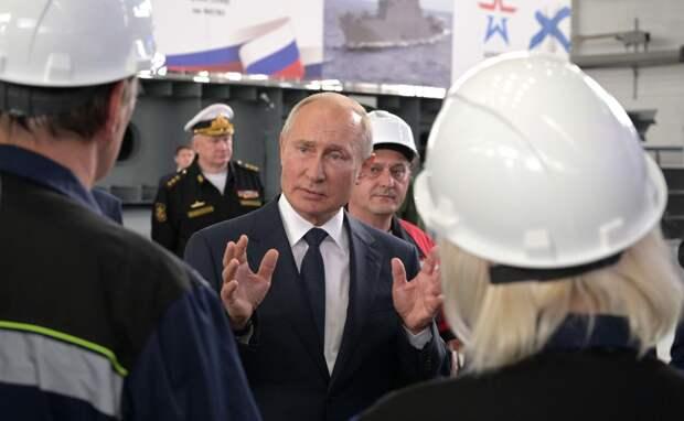 Путин рассказал о судостроении в Крыму при Украине