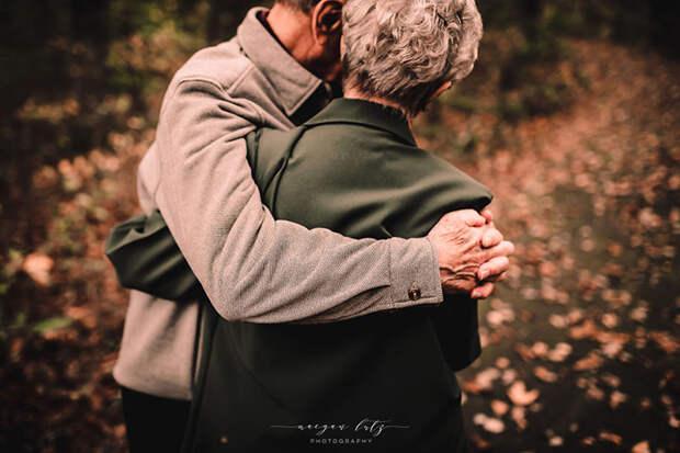 68 лет вместе. Фото: Maegan Lutz.