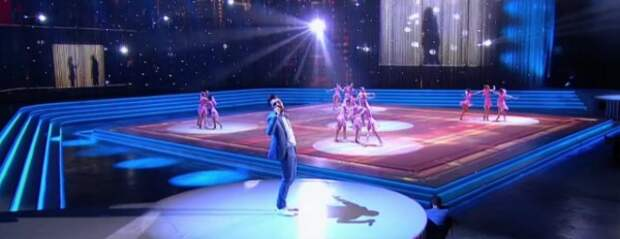 Красноярские гимнастки выступили с Биланом на благотворительном фестивале