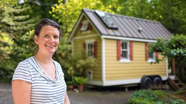 Эти люди живут в домах размером меньше, чем ваша спальня!
