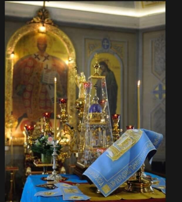 Фото: скриншот с официального сайта Храма Воздвижения Креста