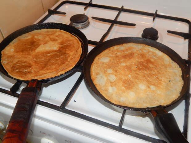 Сказ о том, как две сковородки враждовали