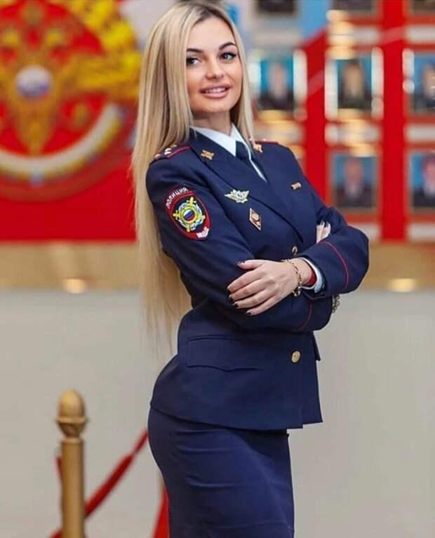 14. девушки, красота, мвд, пилотка, полиция, россия, форма