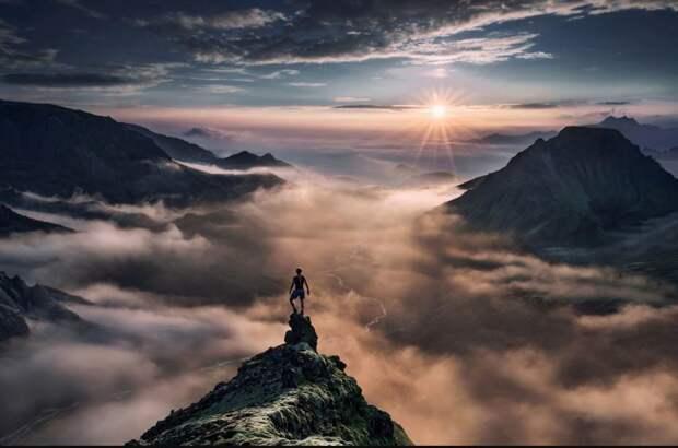 На вершине мира: потрясающие пейзажные фотографии