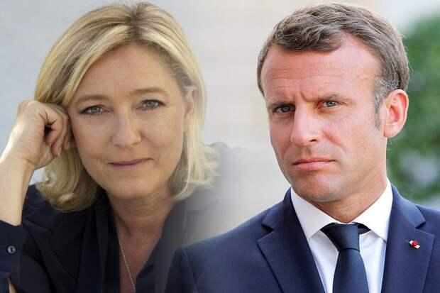 Мари Ле Пен: «Переизбрание Макрона приведет к всеобщему хаосу во Франции»