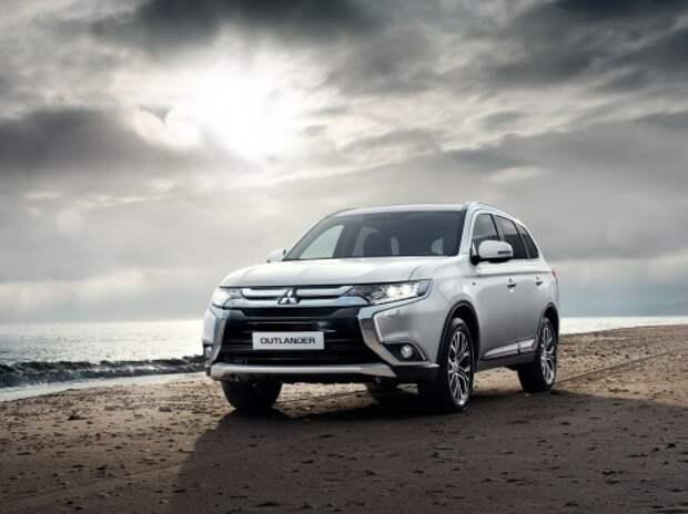 Продажи обновленного Mitsubishi Outlander начнутся в России 6 апреля