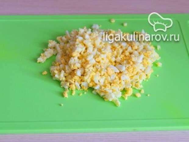 Фото к шагу 7. Зразы с яично-грибной начинкой