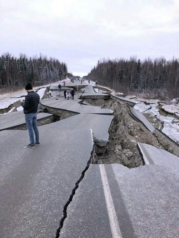 Странное землетрясение на Аляске