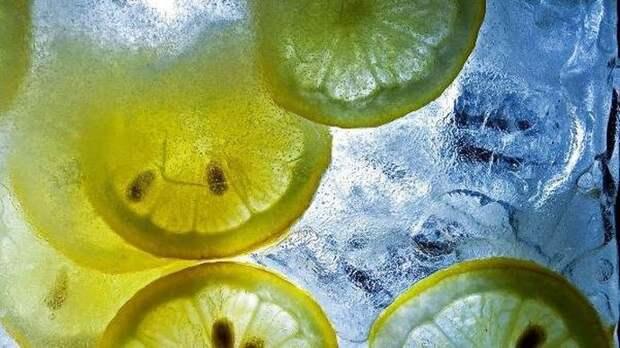 Лимонный лед лимон, польза
