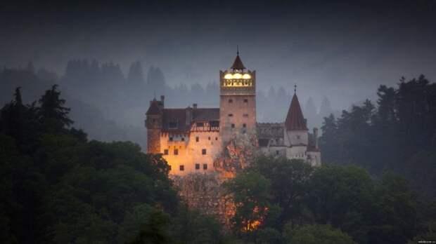 Замок Бран, Румыния.