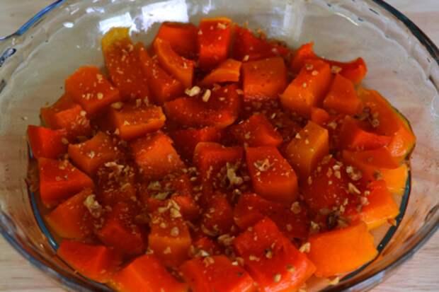 Готовим турецкий десерт из тыквы