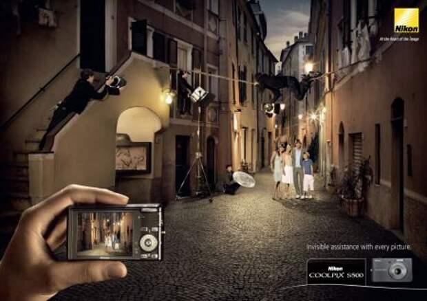 «Мыльница» Nikon: вспышка как прожектор