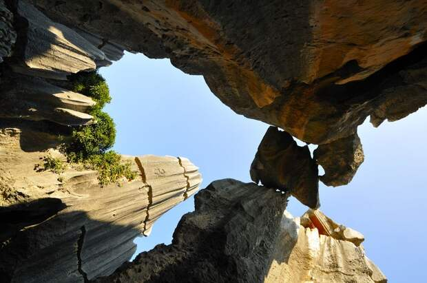 kamenniles 11 Чудеса света: каменный лес Шилинь в Китае