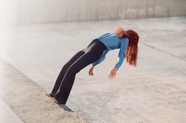 Провокационный фотопроект «Падение»: Элегантность и драма в каждом снимке