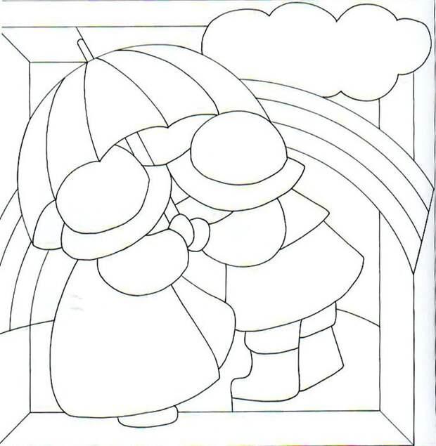 Лоскутные картины в японском стиле кинусайга