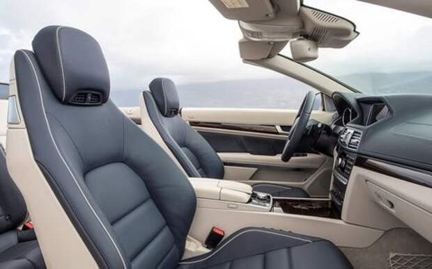 У кабриолетов Mercedes-Benz отнимают воздушный шарф!